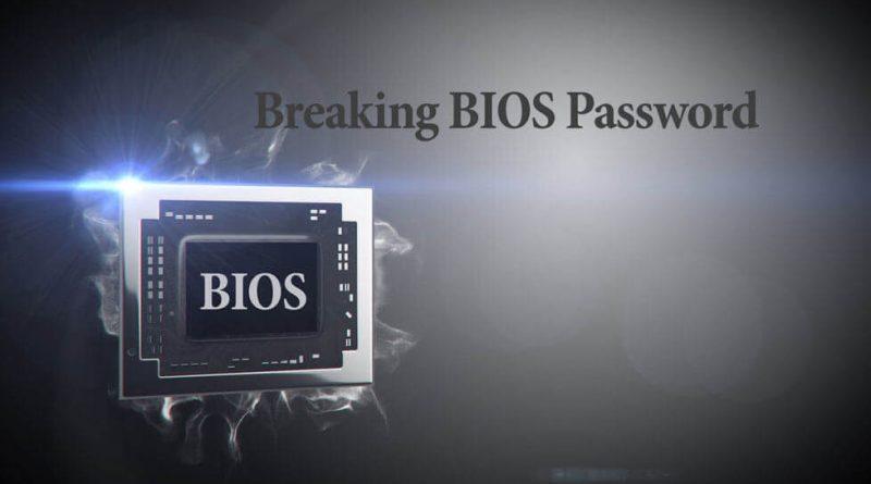 آموزش حذف پسورد بایوس (BIOS)