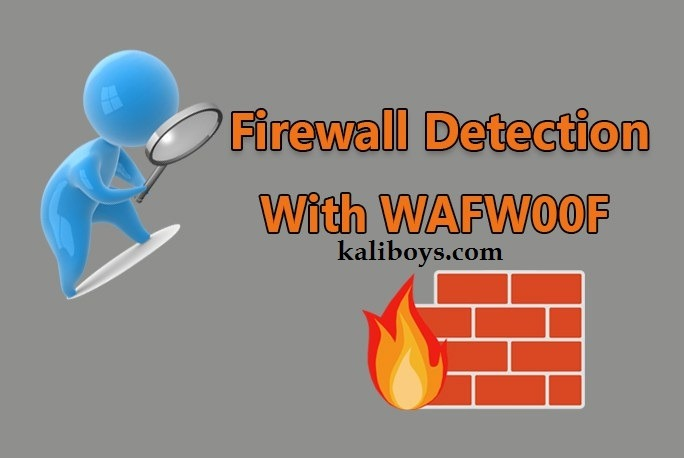 شناسایی فایروال سایت ها با ابزار WAFW00F