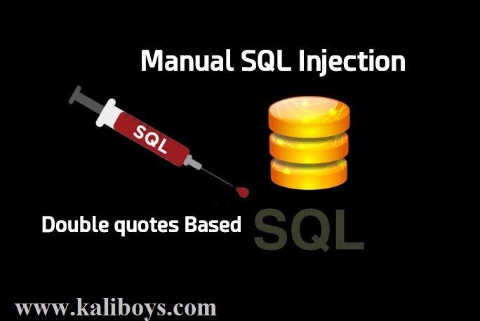 مراحل تست نفوذ آسیب پذیری Sql Injection