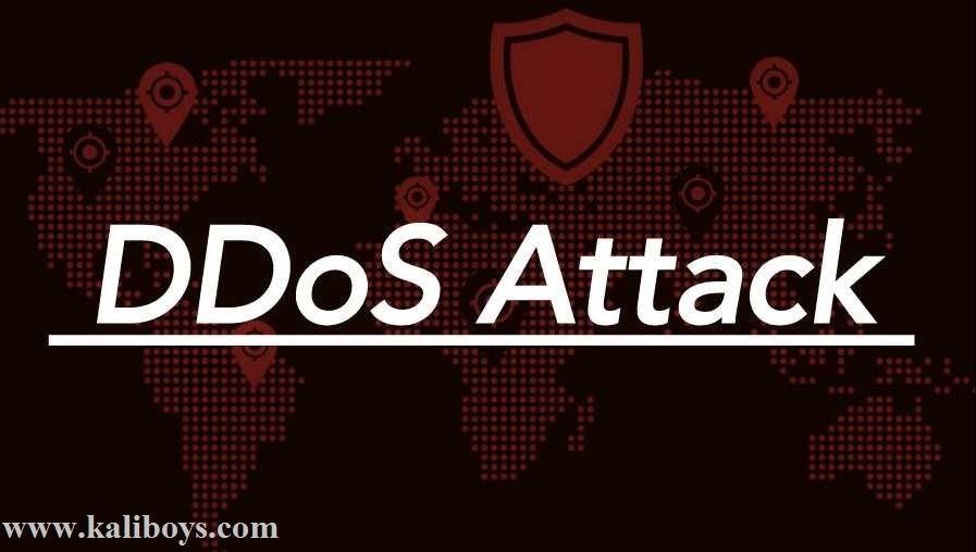 حمله ddos با کالی لینوکس