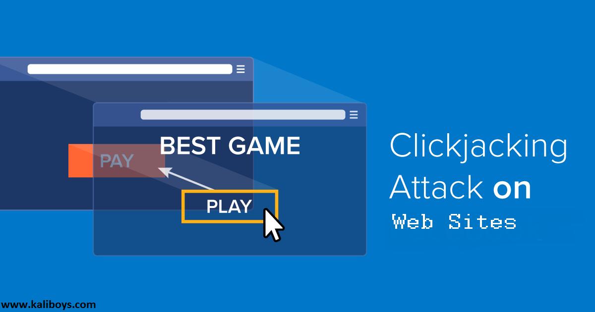 همه چیز درباره حملات Clickjacking