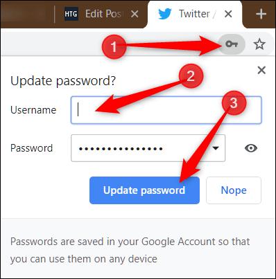 نحوه ایجاد گذرواژه ایمن توسط Google Chrome