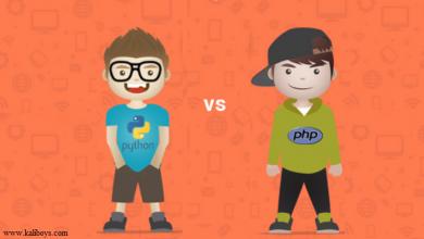 PHP برای توسعه وب بهتر است یا python