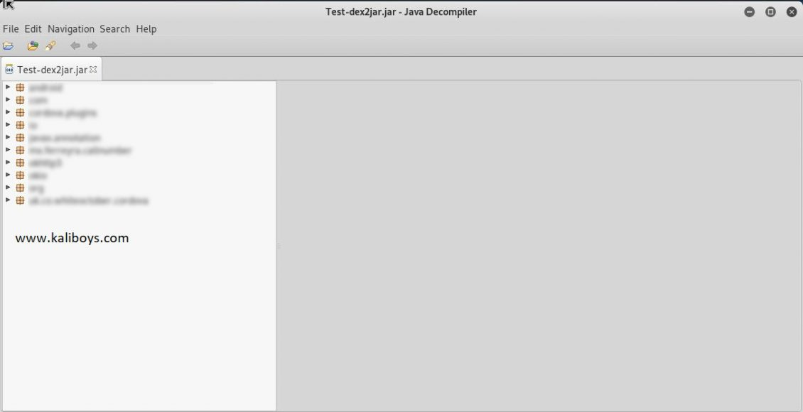 jd-gui وJava Decompiler