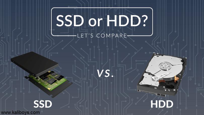 تفاوت بین هارد SATA و SSD