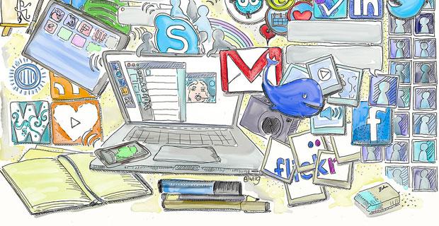 5 نکته برای افزایش امنیت در شبکه های اجتماعی