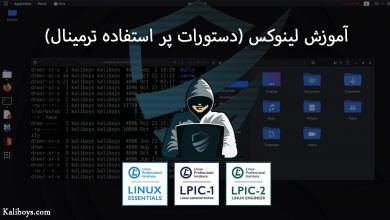 آموزش لینوکس (دستورات پر استفاده ترمینال)