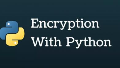 رمزنگاری با پایتون (Python)