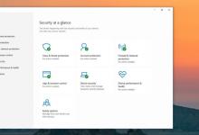 Windows Security در ویندوز 10